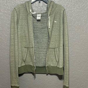 PINK Jackets & Coats - zip up jacket